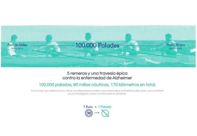 rowing to barcelona for charity