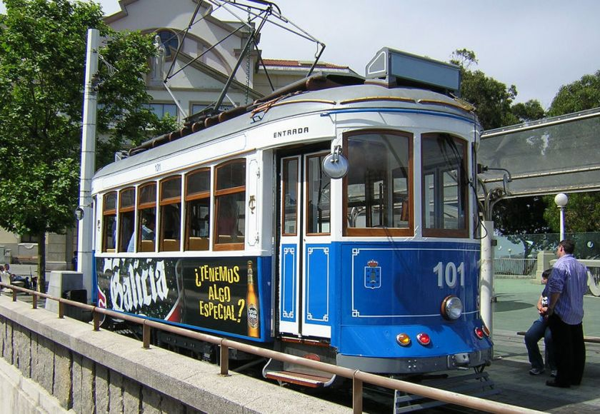 tram from galicia