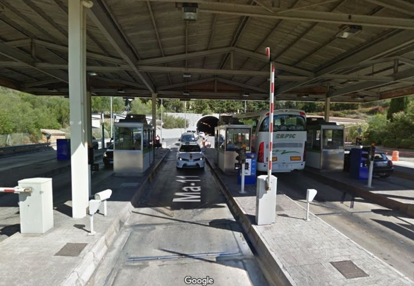soller tunnel toll