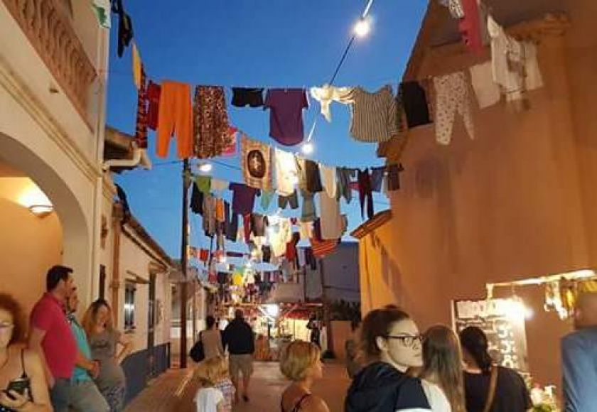 sant pere washing lines