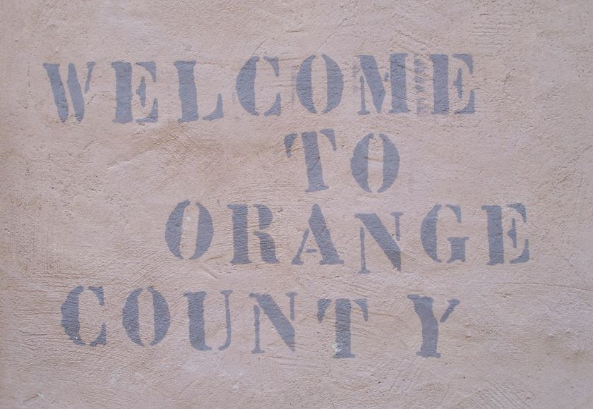 welcome to orange county