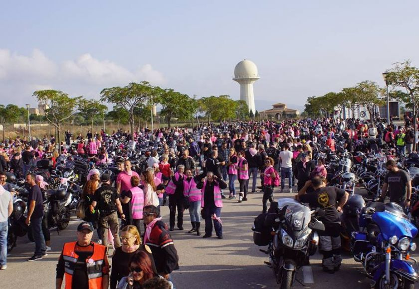 Biker chicks against cancer