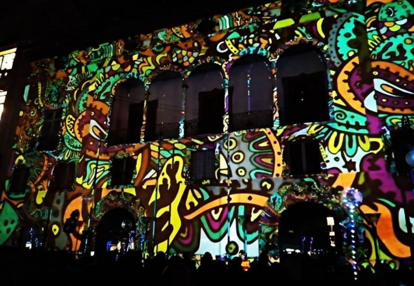 casal solleric video mapping