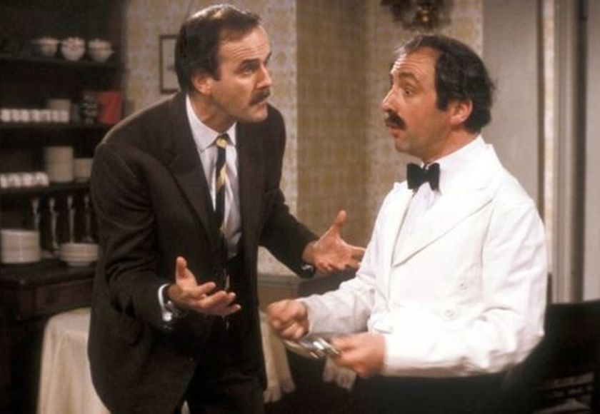 basil fawlty and manuel