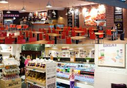 palma airport food outlets