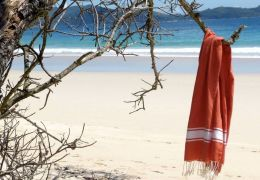 tunisian fouta beach towel