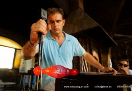 gordiola glass blowing